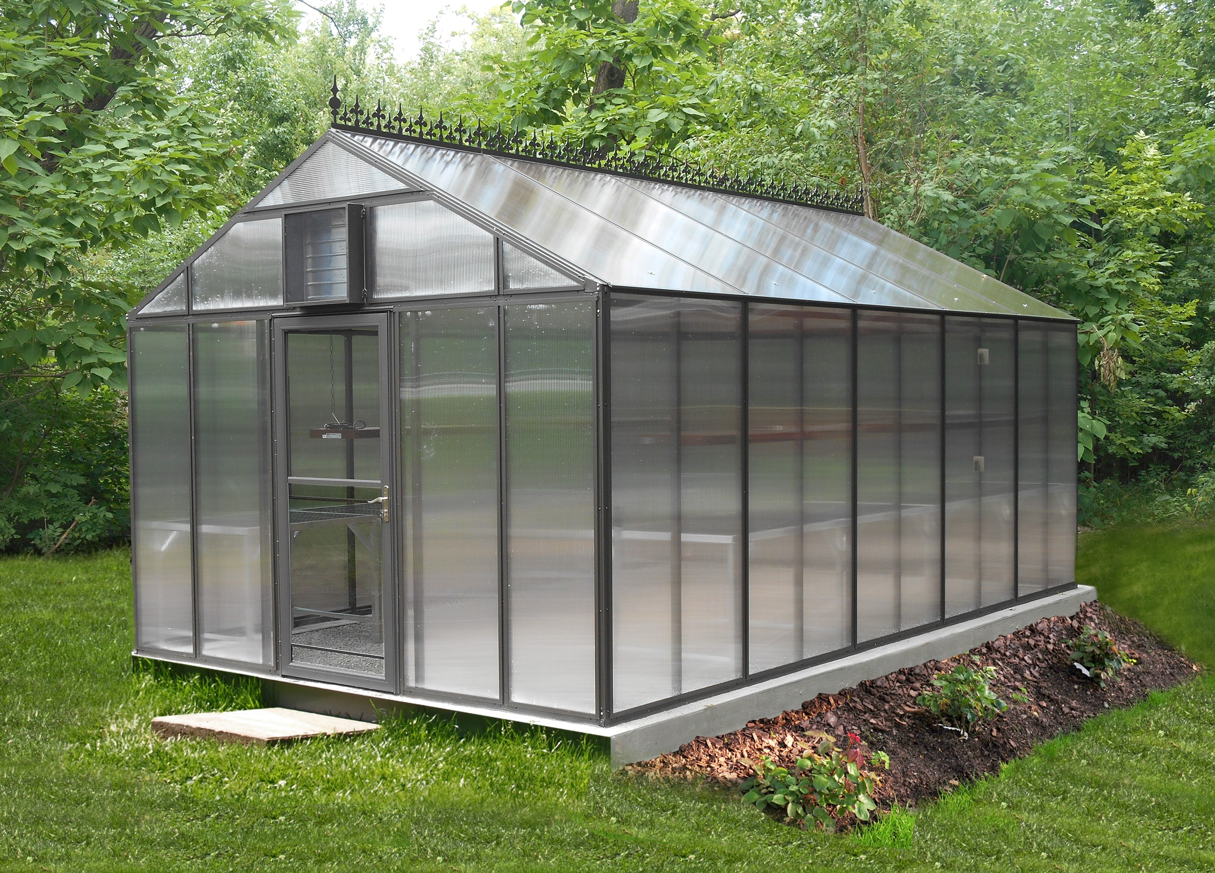 High Quality Glass And Polycarbonate Greenhouses