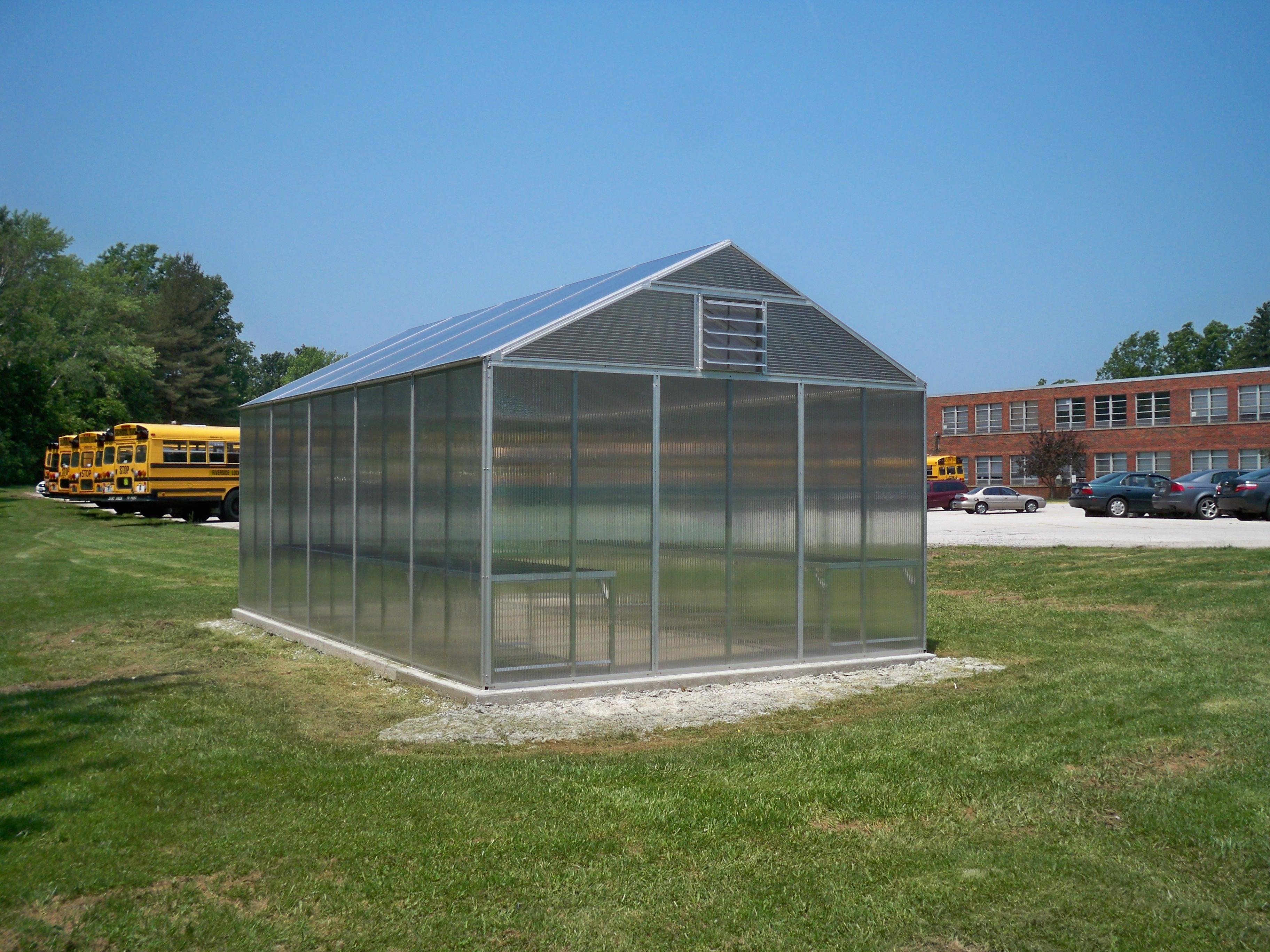 Arcadia's School Greenhouses