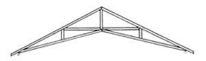 Arcadia's welded scissor truss design is double the strength of conventional greenhouse frames.