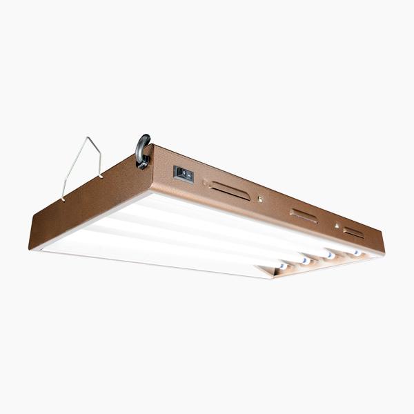 """48 Light Fixture: T5 Fluorescent Light Fixture - 48"""" 4 Bulb"""