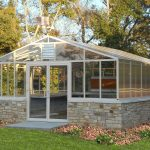 Destination Greenhouse with Stone Kneewall