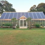 Polycarbonate Greenhouse with Reverse Gable Entry